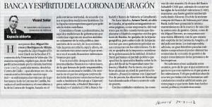 banc i corona de Aragón